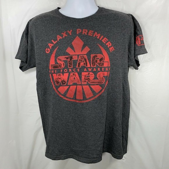 Star Wars The Force Awakens Adult Large Galaxy Tee